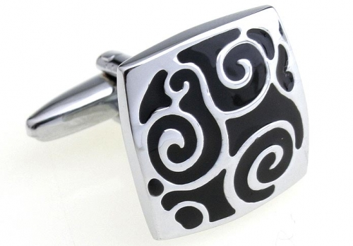 Small Swirls Cufflinks