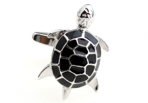 Black Turtle Cufflinks