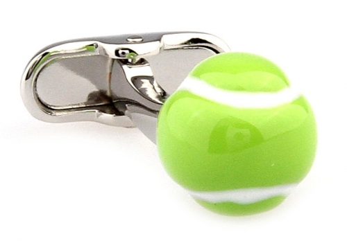 Tennis Ball Cufflinks