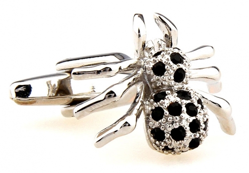 Black Spider Cufflinks