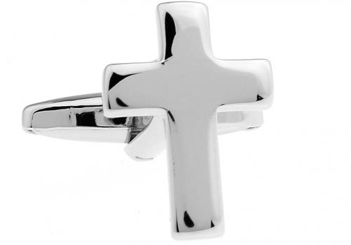 Silver Cross Cufflinks