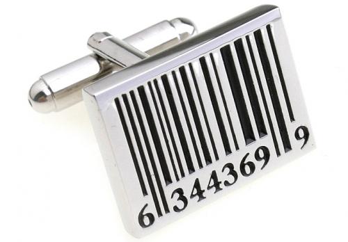 Bar Code Cufflinks