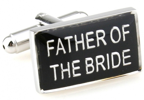 Father of the Bride Wedding Cufflinks