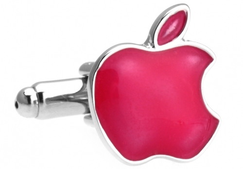 Red Apple Cufflinks