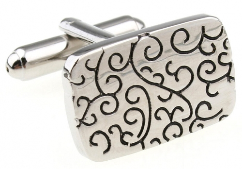 Silver Filigree Cufflinks