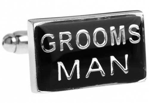 Grooms Man Wedding Cufflinks