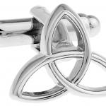 Silver Triquetra Cufflinks
