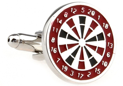 Dart Board Cufflinks