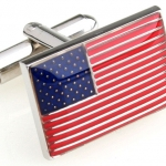 USA Flag Cufflinks