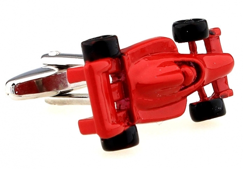 Red Formula One Cufflinks
