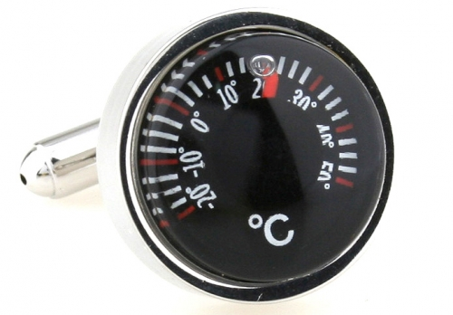 Temperature Gauge Cufflinks