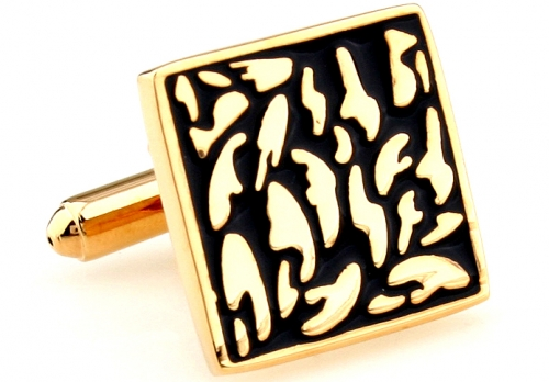 Gold Matisse Cufflinks