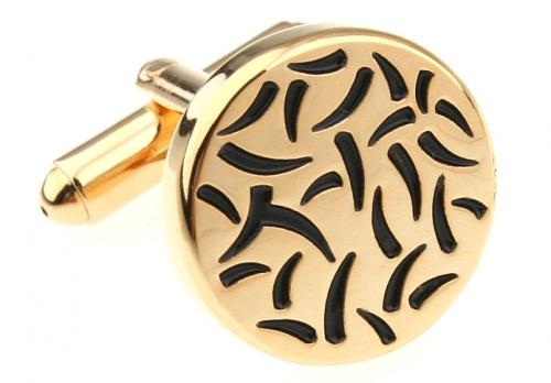 Gold Flicks Cufflinks