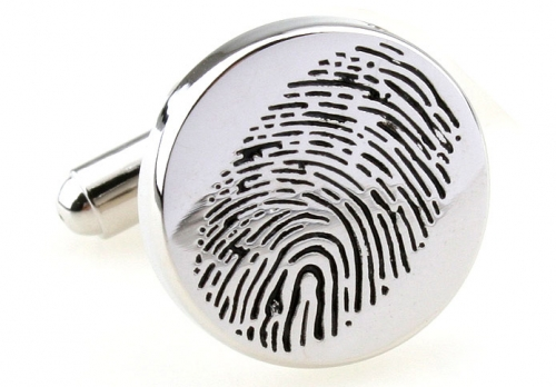 Finger Print Cufflinks
