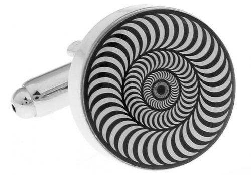 Optical Illusion Cufflinks